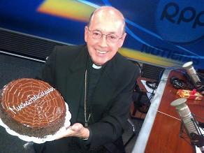 Cardenal Cipriani: ´Celebrar mis 70 años es una nueva juventud´