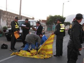 Cañete: 2 personas fueron arrolladas en la Panamericana Sur