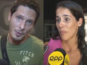 Gianella Neyra y Cristian Rivero pasan vacaciones en Brasil
