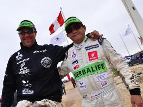 Equipo peruano de Alta Ruta 4x4 viaja a Argentina para el Dakar 2014