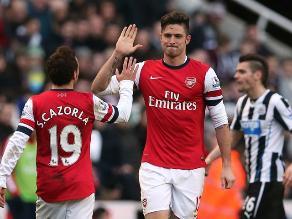 Arsenal derrotó 1-0 al Newcastle y cierra el año como líder de la Premier
