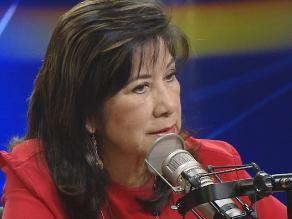 Martha Chávez: Humala ha sido salvajemente sincero