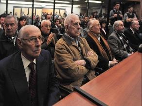 Argentina suma 515 condenados por crímenes durante la dictadura