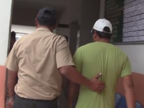 Policías detienen a presunto taxista violador en Huancayo