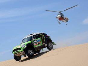 Stéphane Peterhansel preparó su Mini en Marruecos para el Dakar 2014