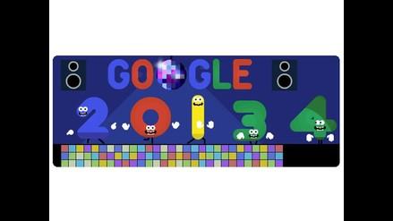 Google ya inició fiesta por Año Nuevo