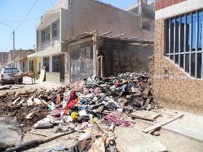 Chiclayo: sexagenaria salva de morir quemada al incendiarse su casa