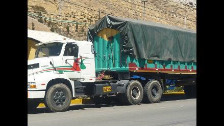 Intervienen camión de procedencia boliviana con 100 kilos de cocaína