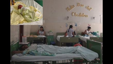 Cinco varones nacen en el primer día del 2014 en Lambayeque