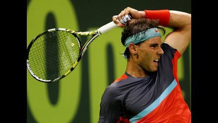 Rafael Nadal avanzó a los cuartos de final del abierto de Doha
