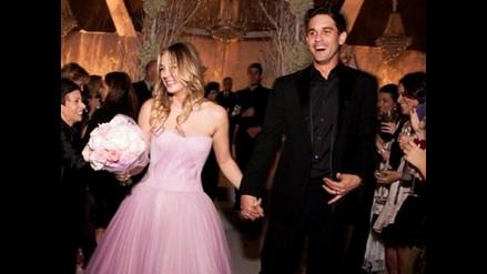 La boda de Kaley Cuoco, la bella Penny de ´The Big Bang Theory´