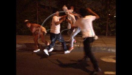 Delincuentes hacen de las suyas cerca al Óvalo de Santa Anita