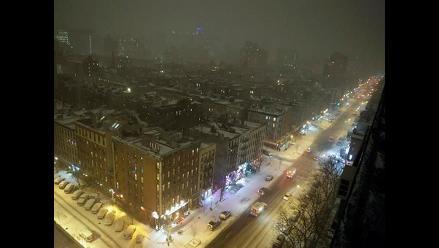 Estado de emergencia en Nueva York por tormenta de nieve