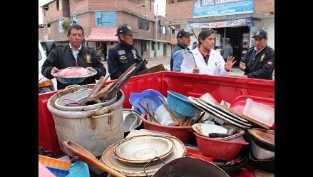 Huancayo: Más de 700 papeletas por insalubridad se aplicaron en el 2013