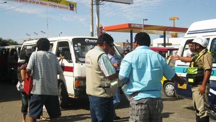 Policía de Tránsito impuso 35 mil 500 papeletas en Chiclayo