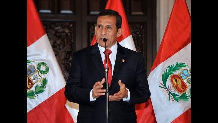 Humala: No es mi prioridad una ley sobre concentración de medios escritos