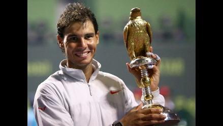 Nadal vence a Monfils en Doha y suma título 61 de su carrera