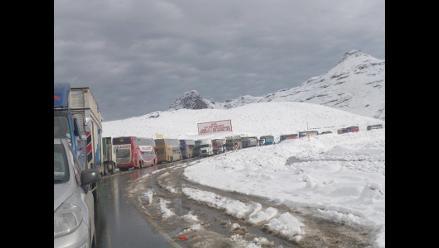 Ticlio: carretera central despejada a pesar de constantes lluvias
