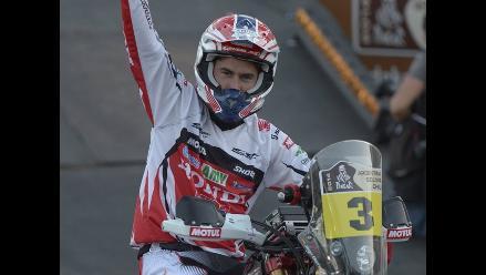 Joan Barreda gana la primera etapa del Rally Dakar en motos