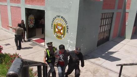 Arequipa: detienen a cinco sujetos acusados de hurtar auto tico