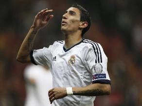Mira el gesto de Di María que enfureció a todos los hinchas del Real Madrid