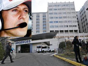 Leve mejora en estado de salud de Michael Schumacher