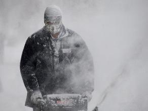 Frente ártico congela buena parte de Estados Unidos