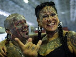 Lo mejor de la Semana de los Tatuajes en Río de Janeiro