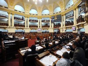 Congreso: Pleno delega facultades legislativas a la Comisión Permanente