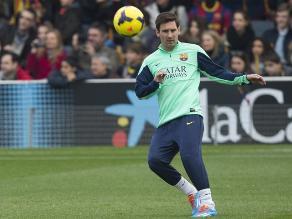 Lionel Messi recibe el alta médica y es convocado para el duelo ante Getafe