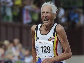 Emiel Pauwels, el atleta más longevo de Bélgica optó por la eutanasia