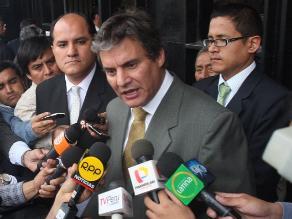 Figallo: Ejecutivo no presentará proyecto sobre concentración de medios