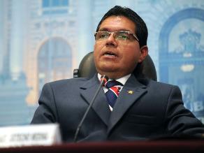 Fiscal Supremo decidirá si se ordena detención de Michael Urtecho