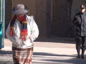 Sensación de frío se incrementa en Arequipa
