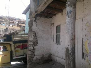 Otuzco: casas de quincha y adobe en riesgo de colapsar por lluvias