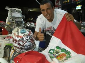 Alexis Hernández sobre Dakar: Es una carrera larga y sólo importa llegar