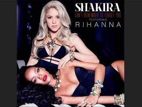 Shakira y Rihanna juntas en sensual foto