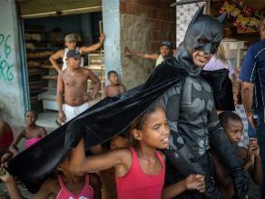 Protestas continúan por tercer día en una favela próxima al estadio Maracaná