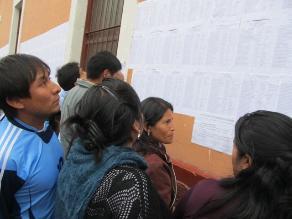Huancavelica: directores de Educación reclaman pago de remuneraciones