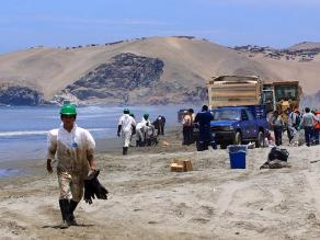 Tumbes: Defensoría pide acción inmediata por derrame de crudo en mar