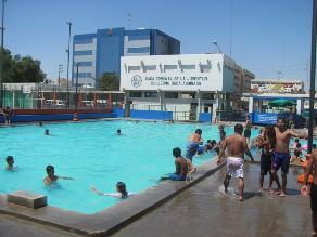 Detectan que piscinas de Chiclayo tienen poco contenido de cloro