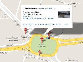Google Maps nombra por error