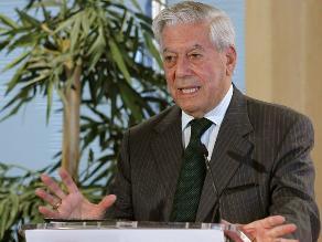 Vargas Llosa: concentración de medios escritos amenaza libertad de prensa