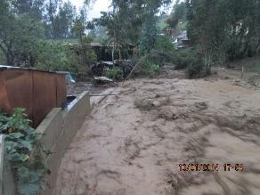 Andahuaylas: al menos 15 viviendas afectadas por huaycos en Talavera