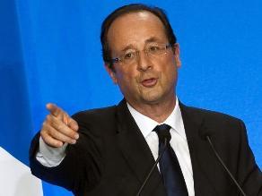 Hollande denunciará a revista que difundió versión de presunto amorío