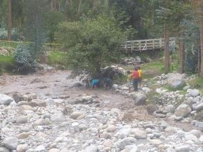 Apurímac: incremento de caudal de río Chumbao alarma a la población