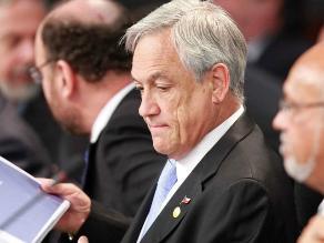 Piñera se reúne con parlamentarios por próximo fallo de La Haya