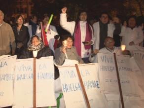 Tumbes: trabajadores de Salud mantienen huelga indefinida