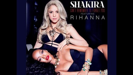 Shakira estrena nuevo single ´Can´t Remember to forget you´