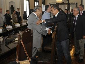 Humala se reunió con directores de medios por fallo de La Haya